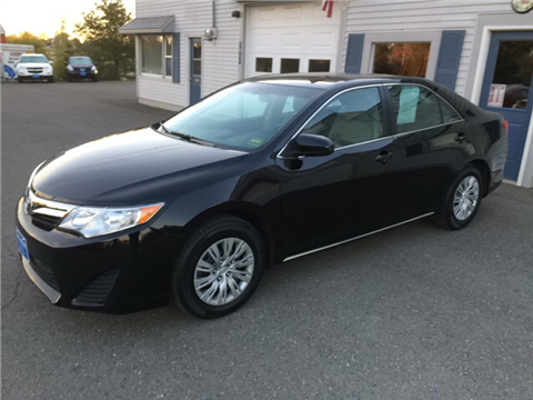 used toyota camry for sale in maine. Black Bedroom Furniture Sets. Home Design Ideas