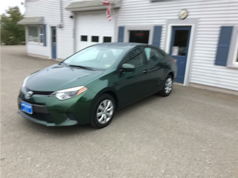 2016 Toyota Corolla for sale in Houlton, ME