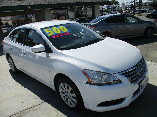 2014 nissan sentra sv 4dr sedan in ontario ca auto land. Black Bedroom Furniture Sets. Home Design Ideas