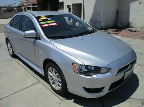 2014 Mitsubishi Lancer for sale in Ontario, CA