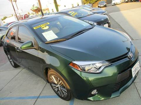 2016 Toyota Corolla for sale in Ontario, CA