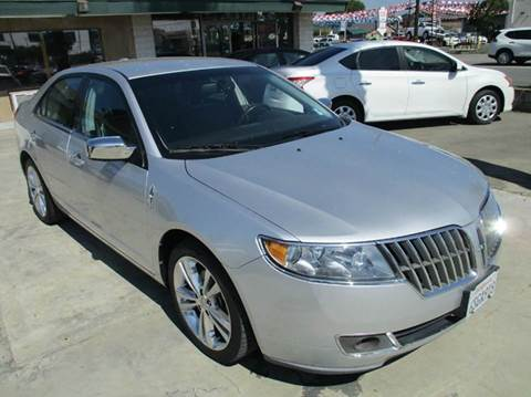 2011 Lincoln MKZ for sale in Ontario, CA
