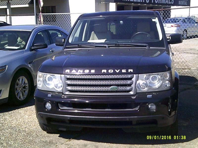2009 land rover range rover sport 4x4 hse 4dr suv w luxury package in baton rouge la. Black Bedroom Furniture Sets. Home Design Ideas