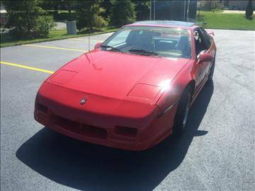 1986 Pontiac Fiero for sale in Kenosha, WI