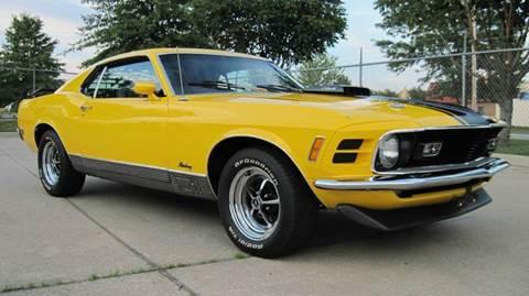 1970 Ford Mustang Mach 1 428 CJ R Code