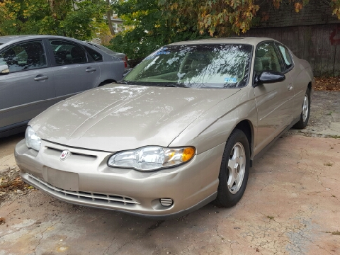 2003 Chevrolet Monte Carlo for sale in Plainfield, NJ