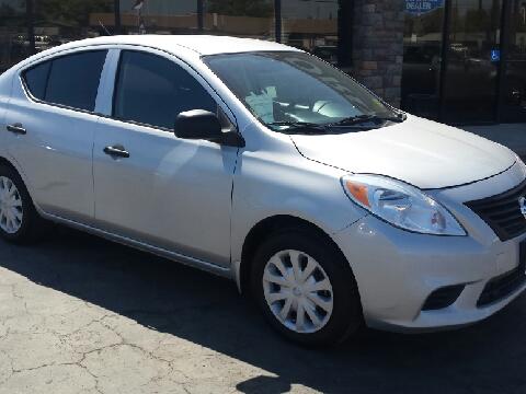 2013 Nissan Versa for sale in Hanford, CA