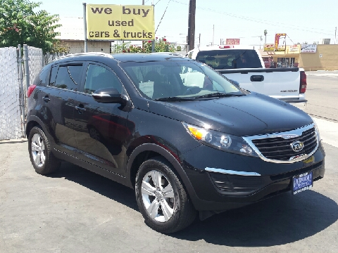 2011 Kia Sportage for sale in Hanford, CA