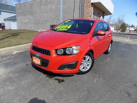 2012 Chevrolet Sonic for sale in Ingleside, IL