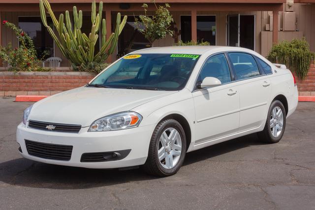 Used 2006 Chevrolet Impala Lt 4dr Sedan In Tucson Az At