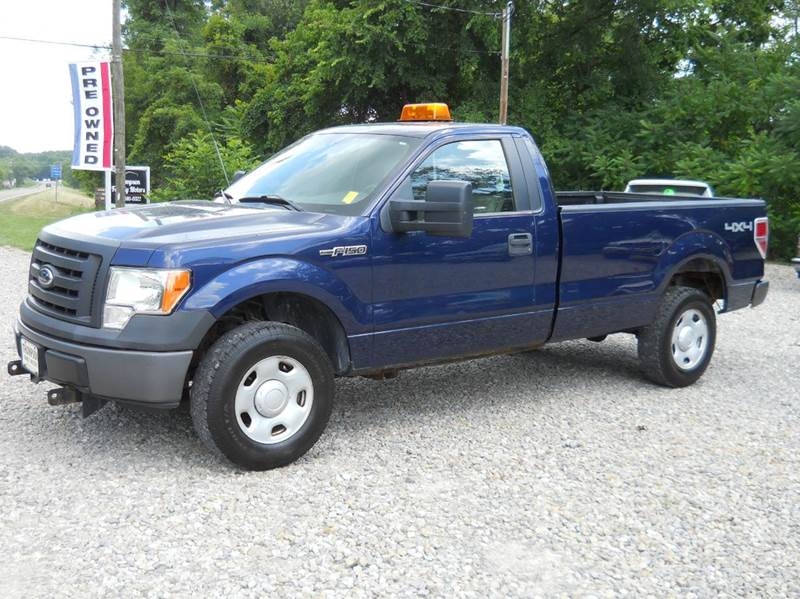 2009 ford f 150 xl 4x4 pickup regular cab 2dr w heavy duty. Black Bedroom Furniture Sets. Home Design Ideas