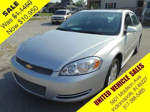 2012 Chevrolet Impala for sale in Indianapolis, IN
