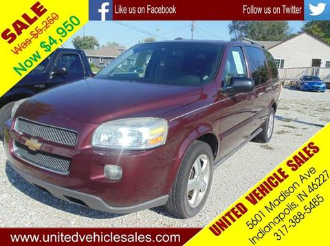 2008 Chevrolet Uplander for sale in Indianapolis IN