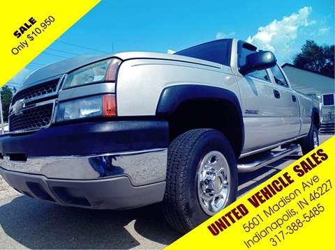 2005 Chevrolet Silverado 2500HD for sale in Indianapolis, IN
