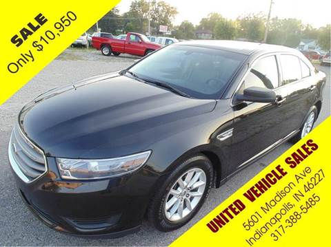 2013 Ford Taurus for sale in Indianapolis, IN