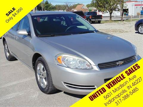 2008 Chevrolet Impala for sale in Indianapolis IN
