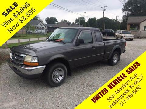 1999 Ford Ranger for sale in Indianapolis, IN
