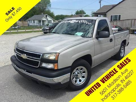 2007 Chevrolet Silverado 1500 Classic for sale in Indianapolis IN