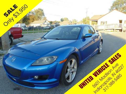 2004 Mazda RX-8 for sale in Indianapolis IN