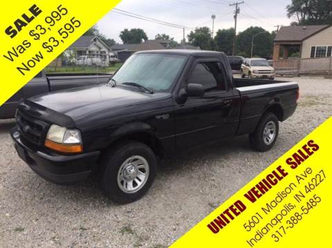 2000 Ford Ranger for sale in Indianapolis IN