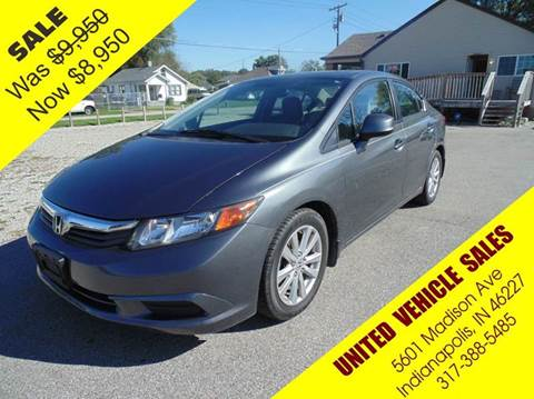 2012 Honda Civic for sale in Indianapolis IN