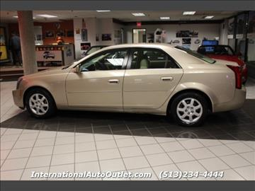 2005 cadillac cts for sale in ohio. Black Bedroom Furniture Sets. Home Design Ideas