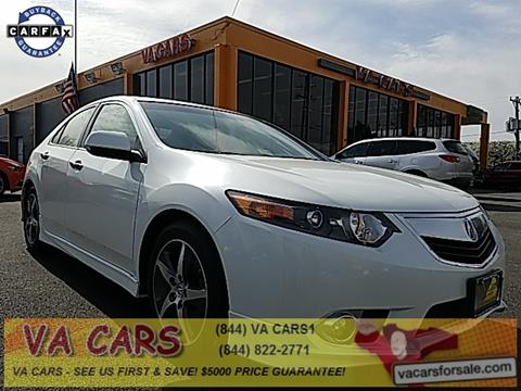 2013 Acura TSX for sale in Richmond, VA