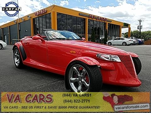1999 Plymouth Prowler for sale in Richmond, VA
