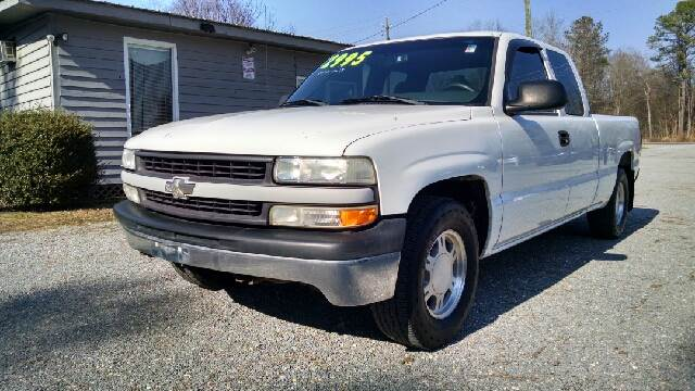 2001 chevrolet silverado 1500 4dr extended cab 2wd sb in roseboro nc sessoms auto sales. Black Bedroom Furniture Sets. Home Design Ideas