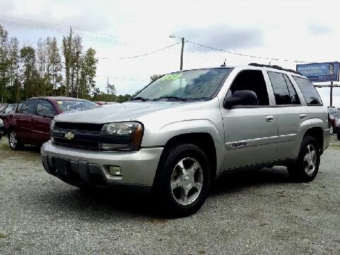 2004 Chevrolet TrailBlazer for sale in Roseboro, NC