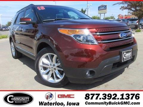 2015 Ford Explorer for sale in Waterloo IA