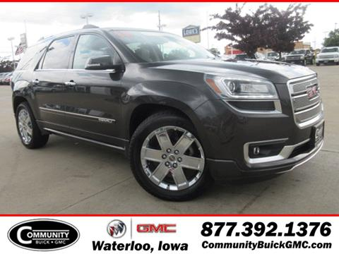2013 GMC Acadia for sale in Waterloo, IA