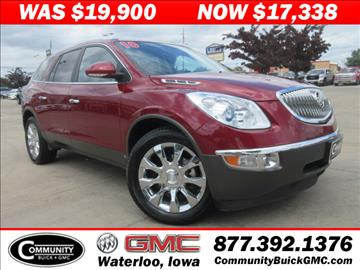 buick enclave for sale waterloo ia. Black Bedroom Furniture Sets. Home Design Ideas