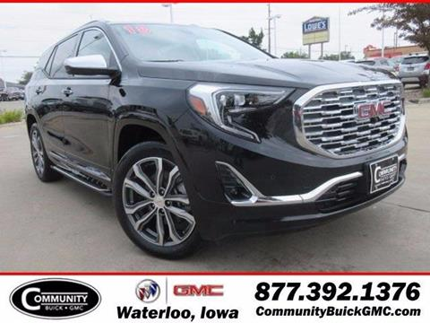 2018 GMC Terrain for sale in Waterloo, IA