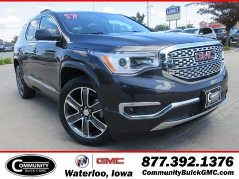 2017 GMC Acadia for sale in Waterloo IA