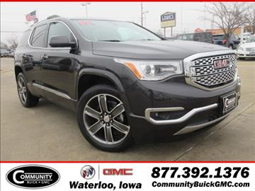 2017 GMC Acadia for sale in Waterloo, IA