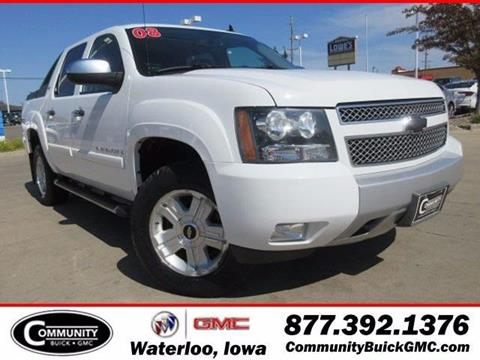 2008 Chevrolet Avalanche for sale in Waterloo IA