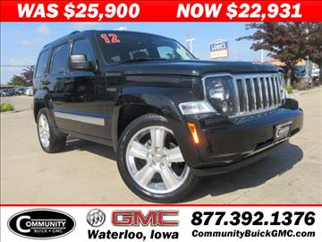 Jeep liberty for sale for Community motors gmc waterloo iowa