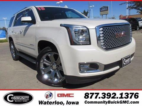 2015 GMC Yukon for sale in Waterloo IA