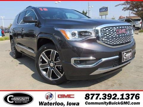 2018 GMC Acadia for sale in Waterloo IA