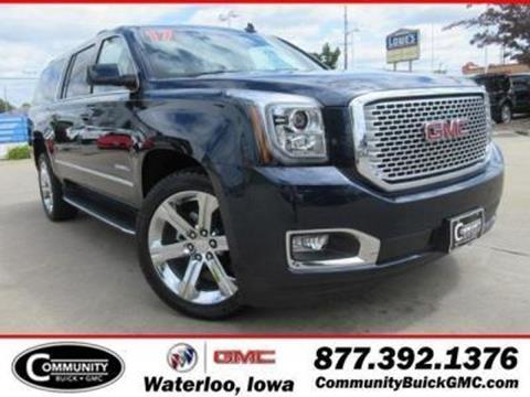 2017 GMC Yukon XL for sale in Waterloo IA