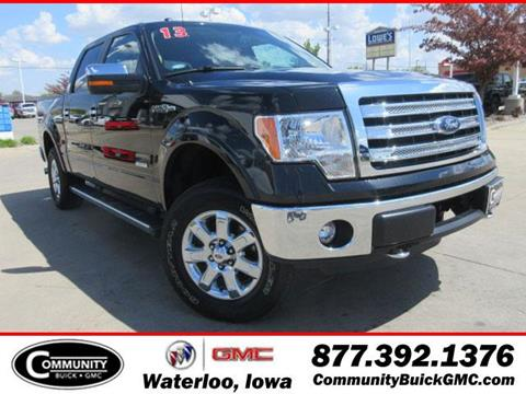 2013 Ford F-150 for sale in Waterloo IA