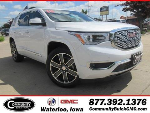 Gmc acadia for sale in iowa for Community motors gmc waterloo iowa