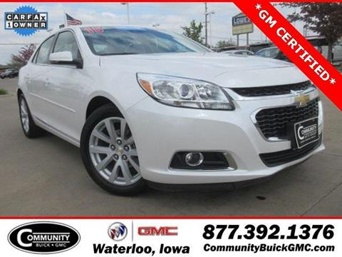 Chevrolet malibu for sale in waterloo ia for Community motors gmc waterloo iowa