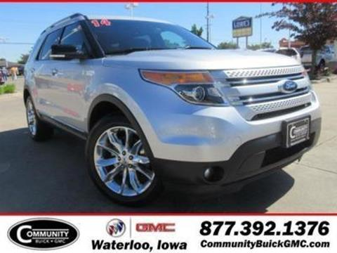 2014 Ford Explorer for sale in Waterloo IA