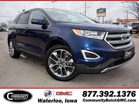 Ford Edge For Sale In Waterloo Ia