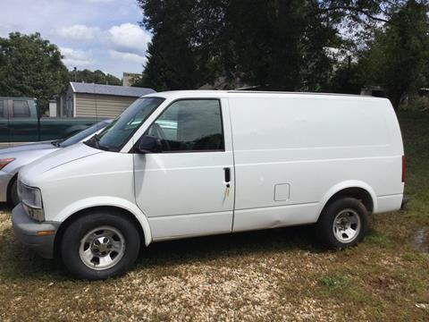 2002 Chevrolet Astro Cargo for sale in Grantville, GA