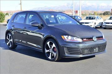 2017 Volkswagen Golf GTI for sale in Saint George, UT
