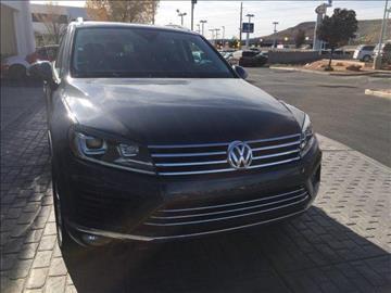 2016 Volkswagen Touareg for sale in Saint George, UT