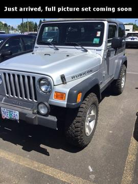 2003 Jeep Wrangler for sale in Hillsboro, OR
